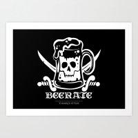 Beerate Art Print