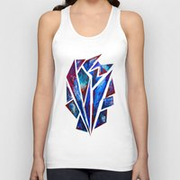 seashell Tank Tops featuring Seashell by Lachlan Willis