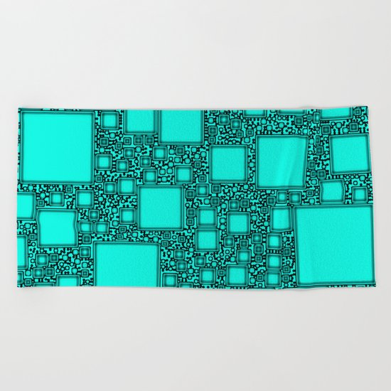 Electronics Blue Beach Towel