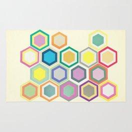 Honeycomb Layers II Rug