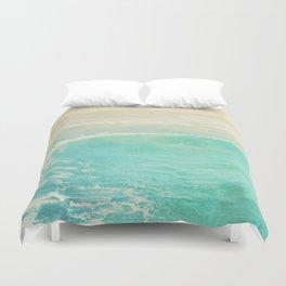 beach ocean wave. Surge. Hermosa Beach photograph Duvet Cover