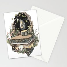 the priest Stationery Cards