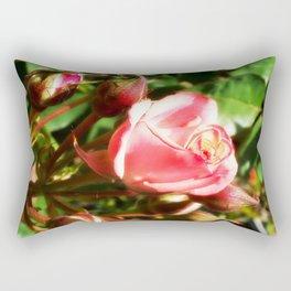 Natural Beauty • Point Defiance Rose Gardens • Tacoma, WA Rectangular Pillow