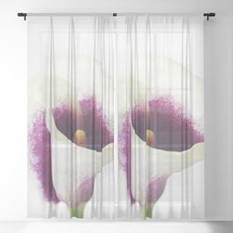 Calla Lily Sheer Curtain