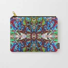 Colorful Abstract  Marbling ,Pattern Tradional Carry-All Pouch