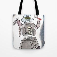 CLANK! CLANK! YOU'RE DEAD! Tote Bag