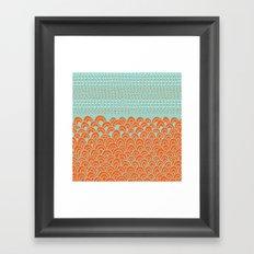 Infinite Wave Framed Art Print