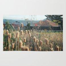 autumn weed Rug