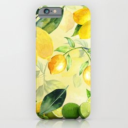 In the Lemon Orchard iPhone Case