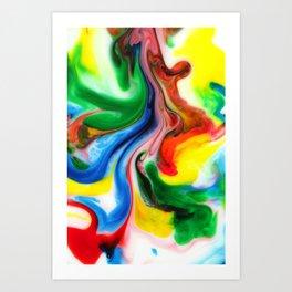 Jig Art Print