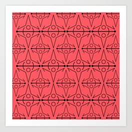 Coral Norse Art Print