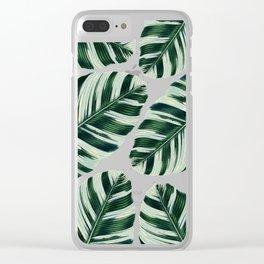 Tropical Foliage #society6 #buyart #decor Clear iPhone Case