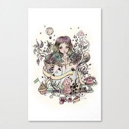 Azama Canvas Print