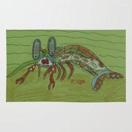 Mantis Shrimp Rug