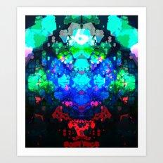 EH-WEANS-MESSAGE-2 Art Print