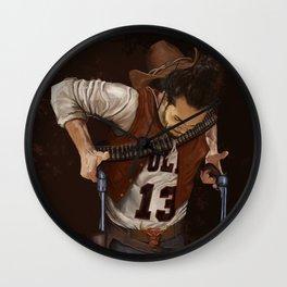 Noah Gunslinger Wall Clock