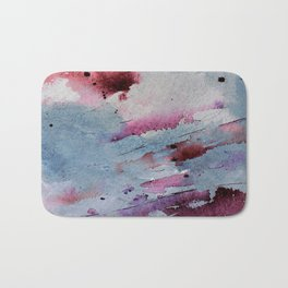 Remains of elderberry soup Bath Mat