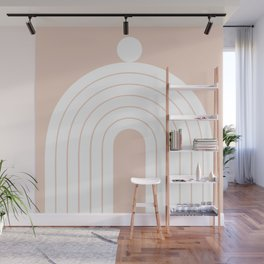 Abstraction_Balance_Minimalism_005 Wall Mural