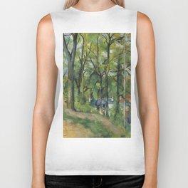 """Paul Cezanne """"The Orchard. La côte Saint-Denis à Pontoise"""" Biker Tank"""