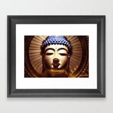Buda Amida Framed Art Print