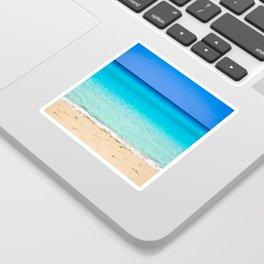 Beach on Crete Sticker