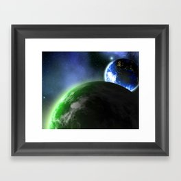 A New Planet In Our Solar System Framed Art Print