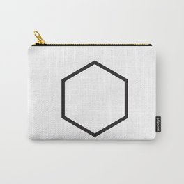 Minimal Hexagon Carry-All Pouch