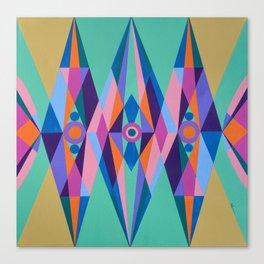 Sacred Geometric Triad Canvas Print
