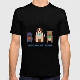 Dogs Against Trump T-shirt