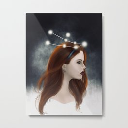 Andromeda, The Chained Lady Metal Print