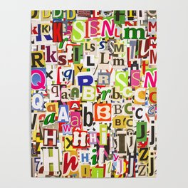 Ransom Note Poster