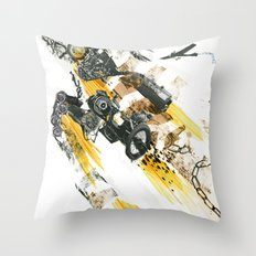 Cult of the Fast Machine Throw Pillow
