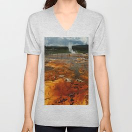 Awesome Geyser Colors Unisex V-Neck