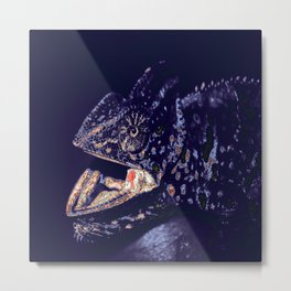 Chameleon. Recolored. Metal Print