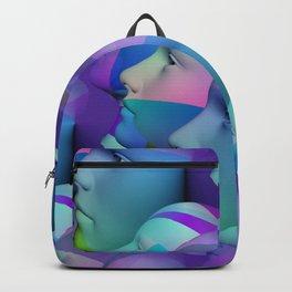 feeling blue together Backpack