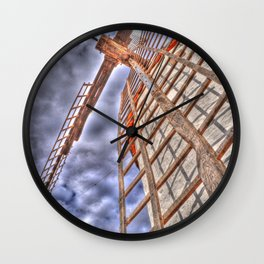 From above or below?  Wall Clock