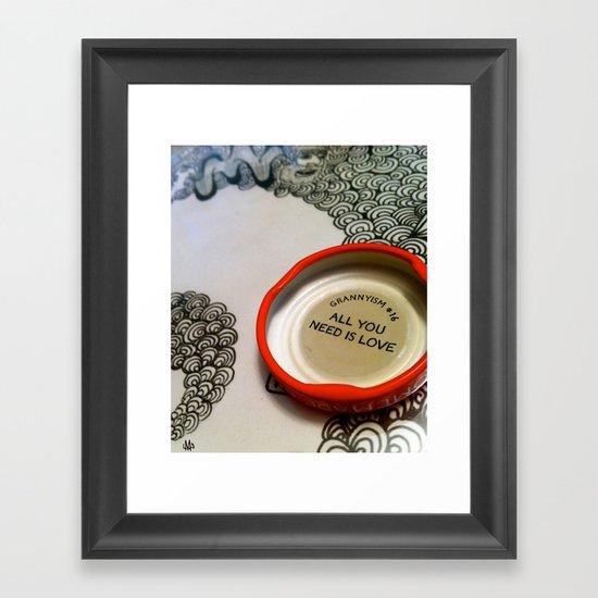 Grannyism #16 Framed Art Print