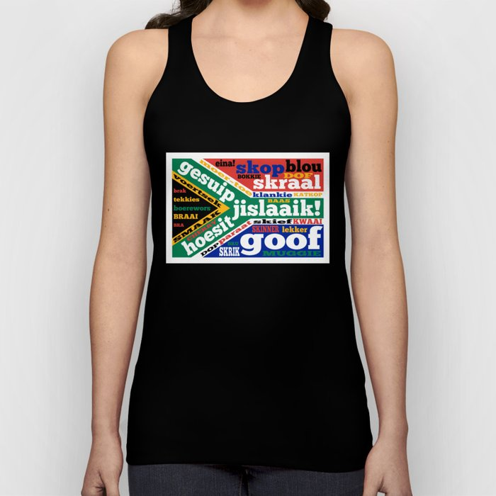 South African slang and colloquialisms Unisex Tank Top