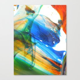 Laminar Flow Canvas Print