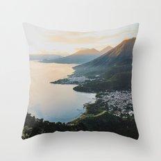 Lake Atitlán II, Guatemala Throw Pillow