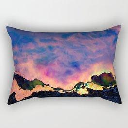 The World On Fire Rectangular Pillow