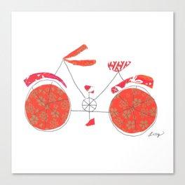 Push Bike Canvas Print
