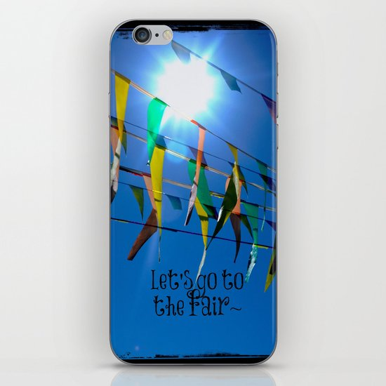 Let's go to the fair iPhone & iPod Skin