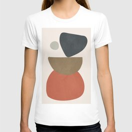 Abstract Balancing Stones T-shirt