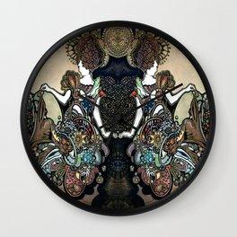 Jeweled Mermaid Wall Clock