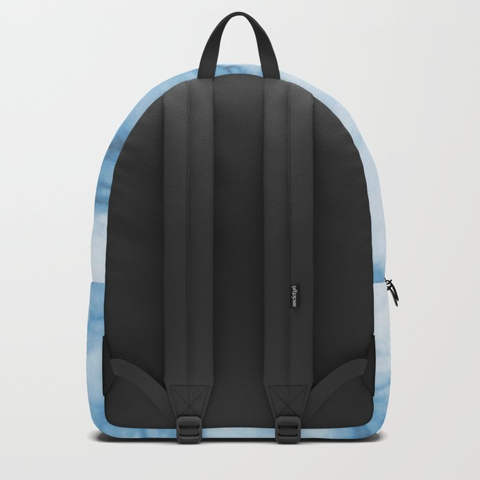 Marble Blue Ocean Backpack