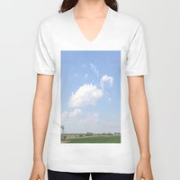 mouse V-neck T-shirts featuring Mouse by Stecker Photographie