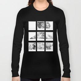 Memento Polaroids - Movie Inspired Art Long Sleeve T-shirt
