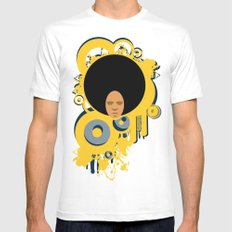 Love the 'Fro Mens Fitted Tee White MEDIUM