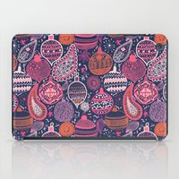 bohemian iPad Cases featuring Bohemian Christmas by Demi Goutte